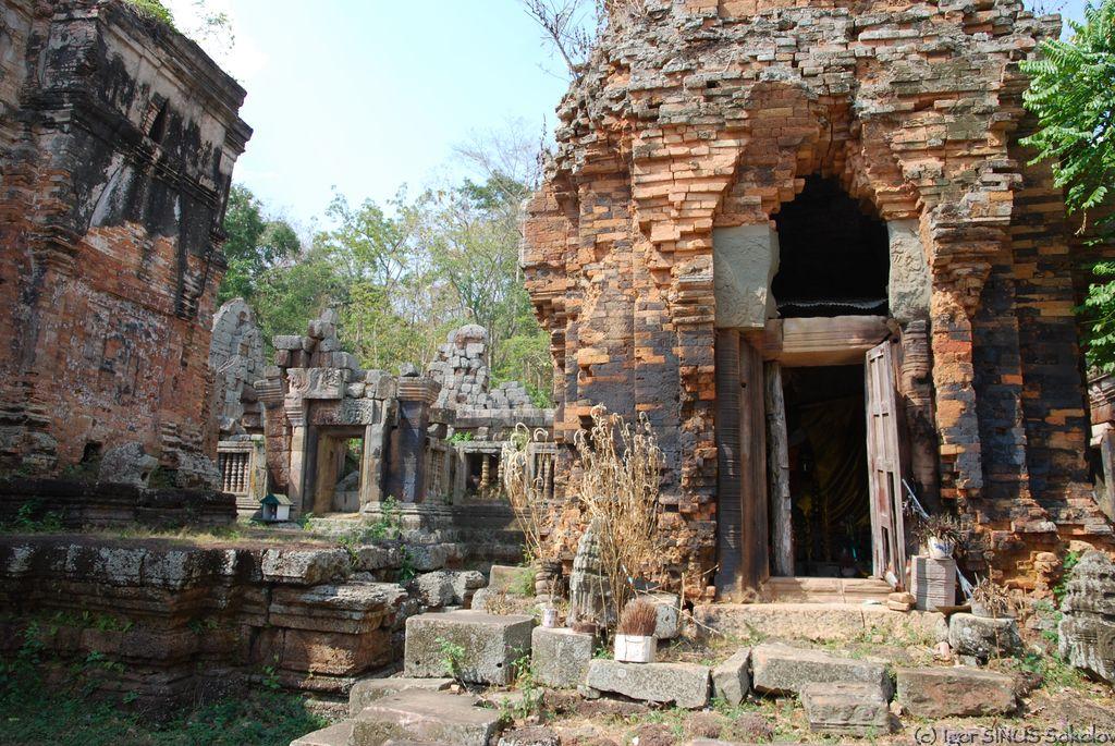 Развалины Кхмерской империи