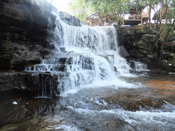 Водопад Кхбал Чхай