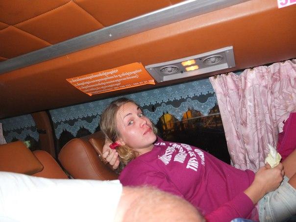Лежанки в автобусе