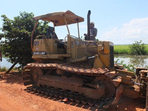 Древние строительные машины на службе кхмеров