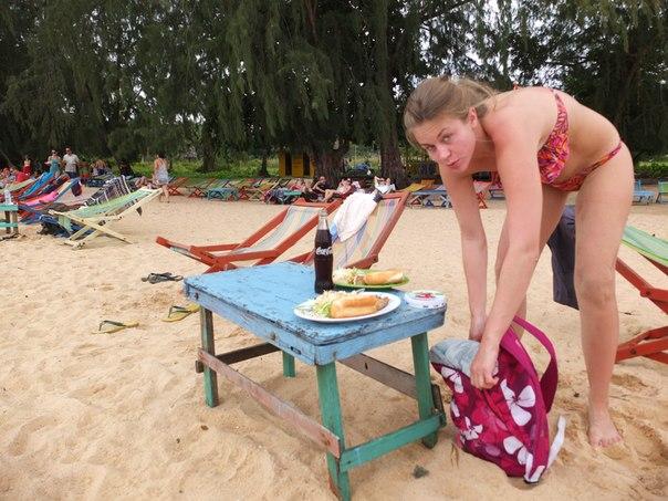 Обед на острове в Сиамском заливе