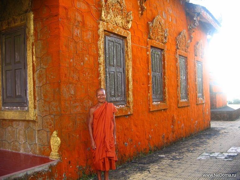 Храм на горе Пном Бокор