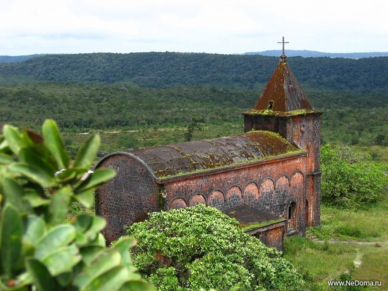 Католическая церковь на Пном Бокоре