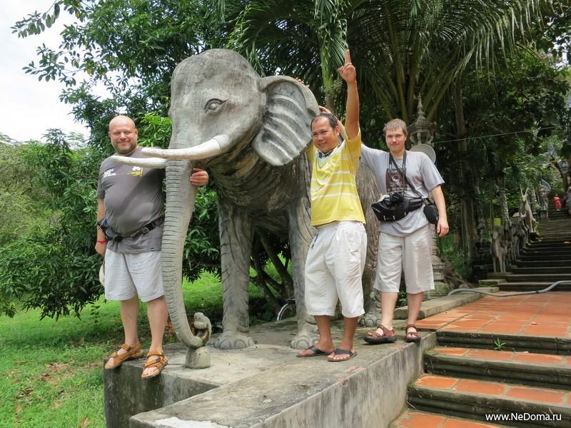 Со слоном на память