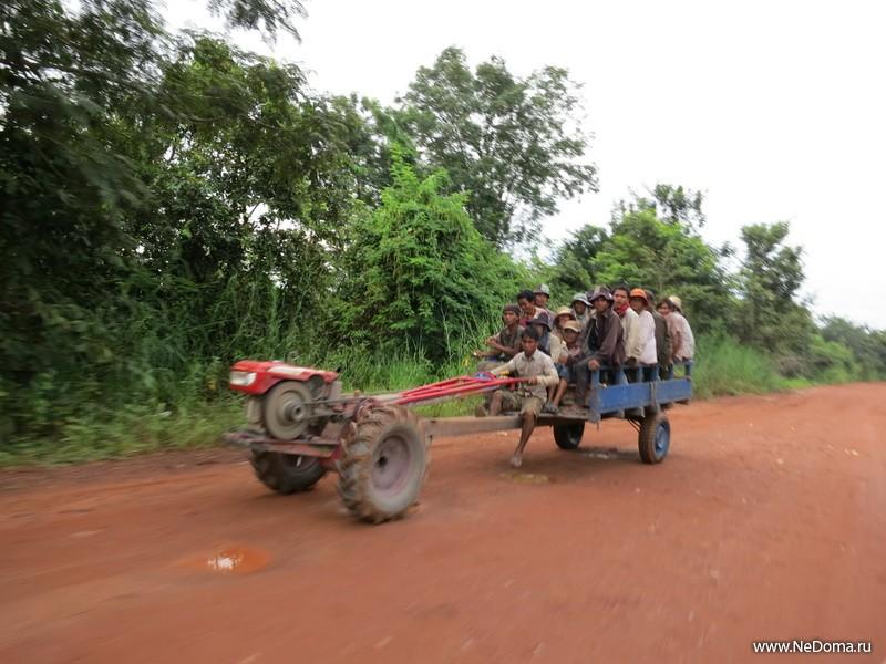 Основной транспорт в деревне