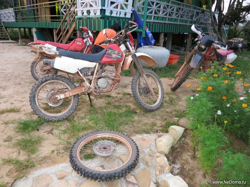 Замена подшипников в колесе мотоцикла