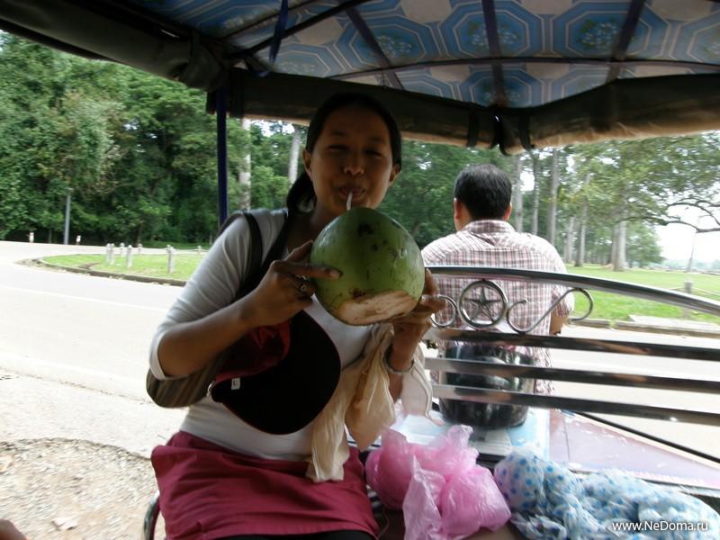 Наш гид Мали и кокос