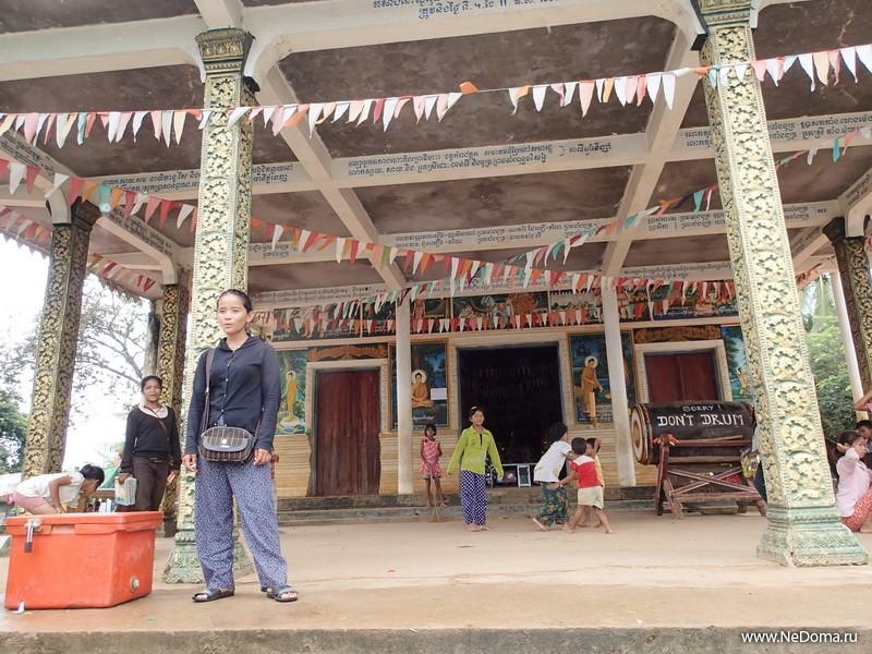 Пагода в деревне