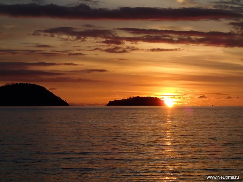 Солнце сядет через три минуты