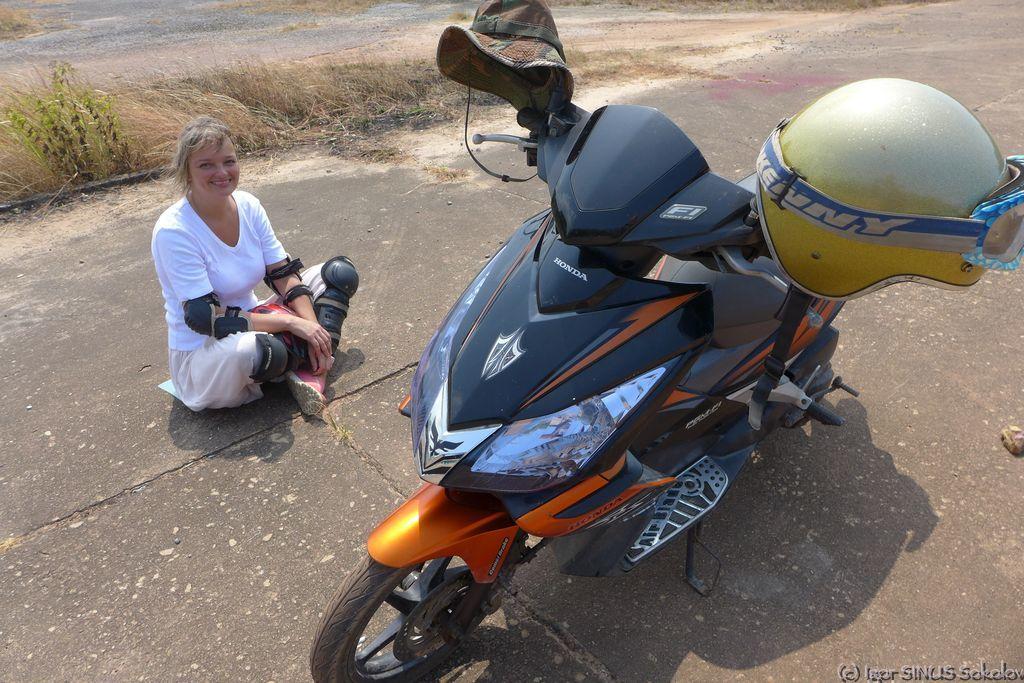 Медитация на мотоцикл
