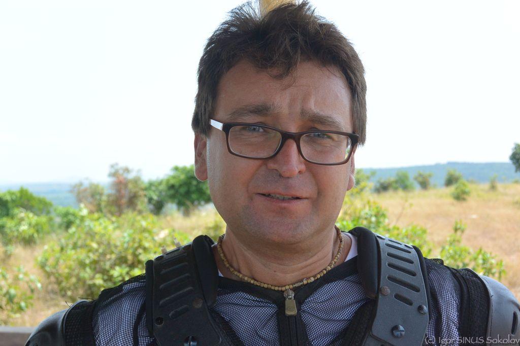 Рафик Перцев в путешествии с Синусом