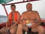 На кхмерской лодке по островам