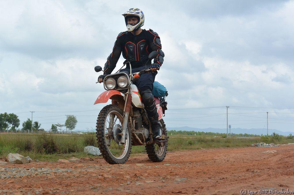 по дороге в город Кампот