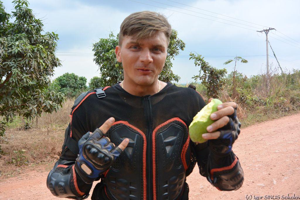 зеленое манго - еще тот деликатес